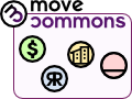 Move Commons Con ánimo de lucro, Reproducible, Reinforcing the Town/community/society Commons, Horizontal