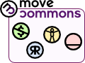 Move Commons: Non Profit, Reproducible, Reinforcing the Commons/Body/Health, Grassroots